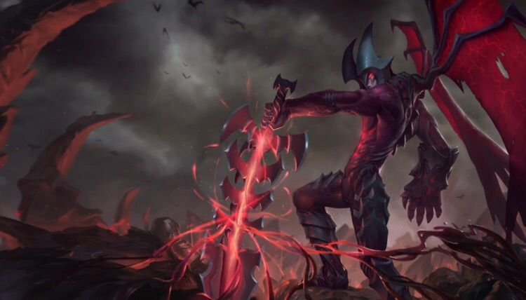 Aatrox is a legendary warrior, one of only five that remain of an ancient  race known as the Darkin. He wields his massive blade with grace and poise,  ...