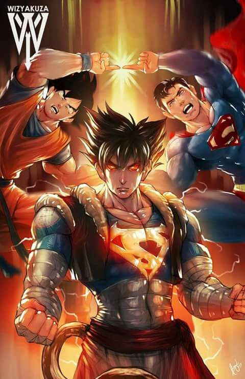 When Goku And Superman Fusion