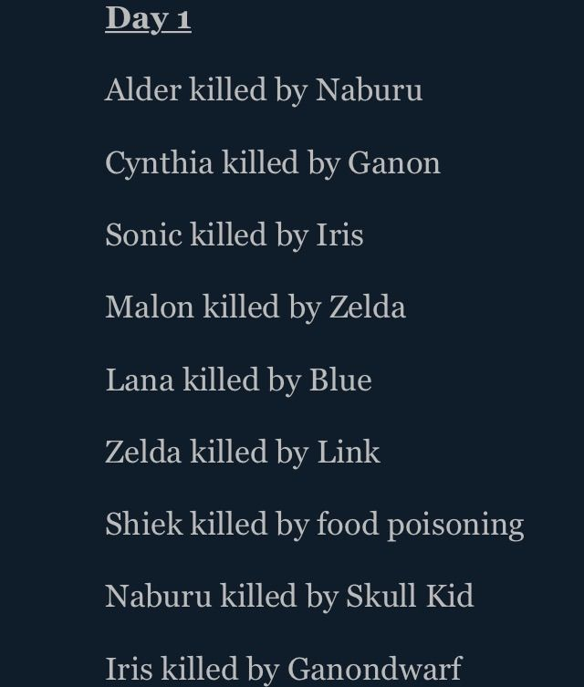 names from hunger games
