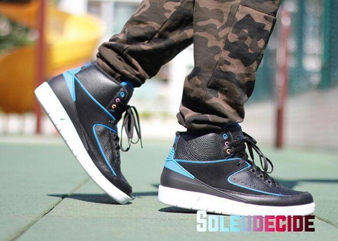 d8f6c3e48d5 Jordan 2 Radio Raheem on feet | Sneakerheads Amino