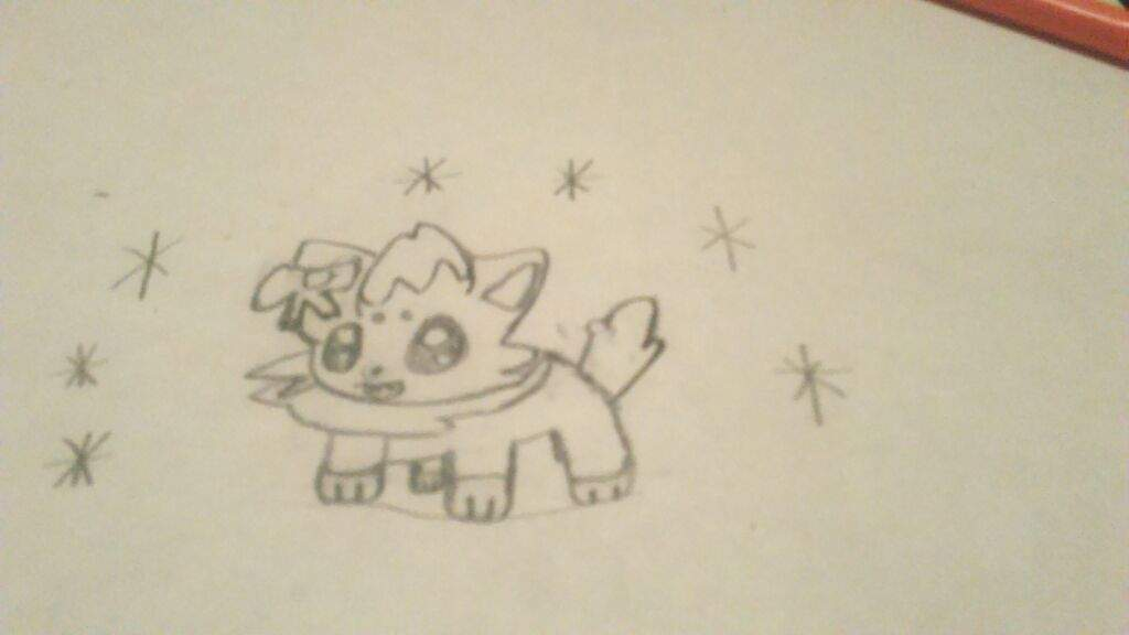 cute zorua requested by zeronoise pokémon amino