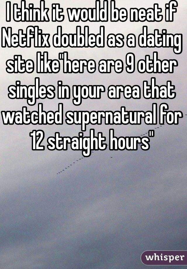 Dating site for supernatural