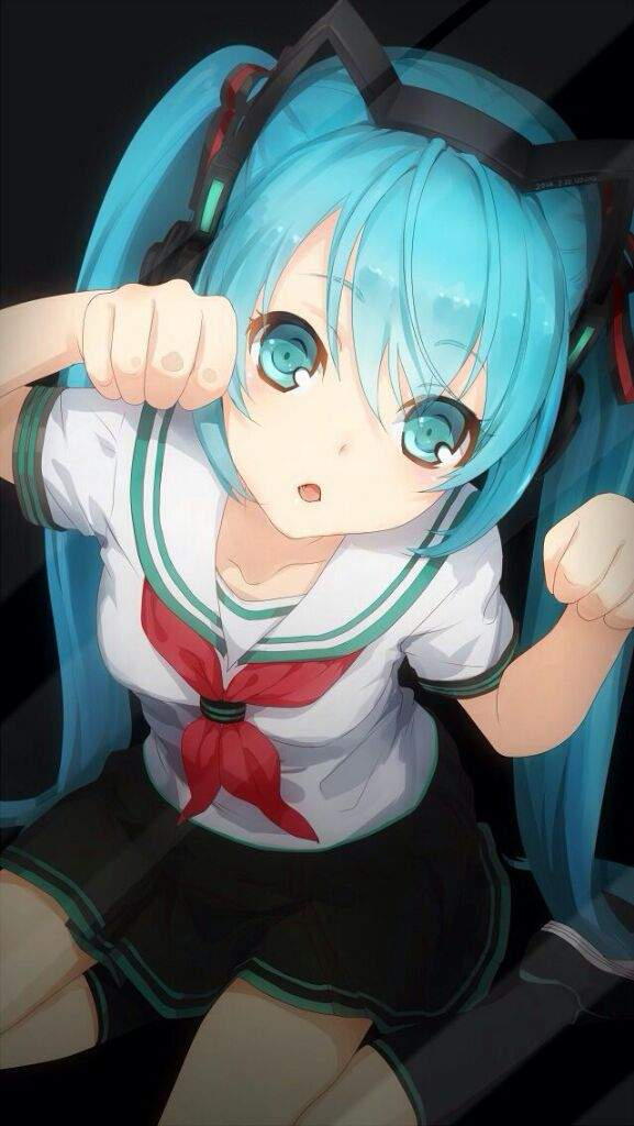Miku Hatsune Always Kawaii Stuck Out Tongue Winking Eye If You Have Any Anime Lock Screen