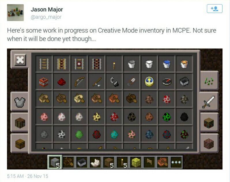 0140 Confirm Features 0140 Update Minecraft Pe Pocket