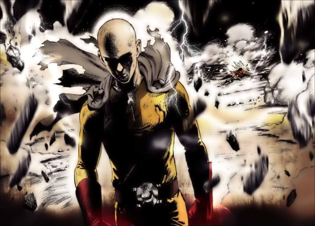 Goku super saiyan god VS One punch man Saitama | Anime Amino