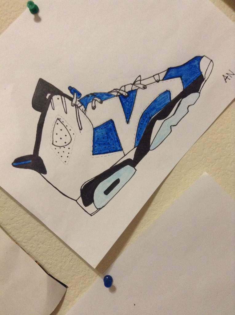 4f4b9f6efec Jordan 6 Custom Drawing | Sneakerheads Amino
