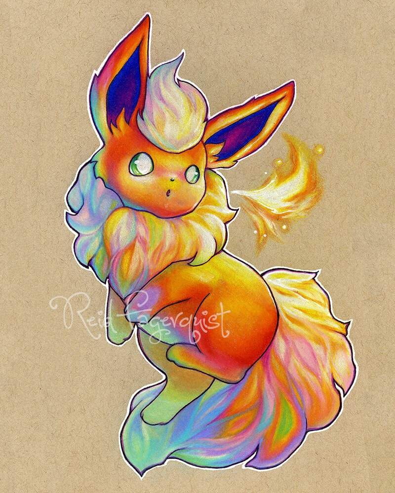 When does flareon learn ember in yellow