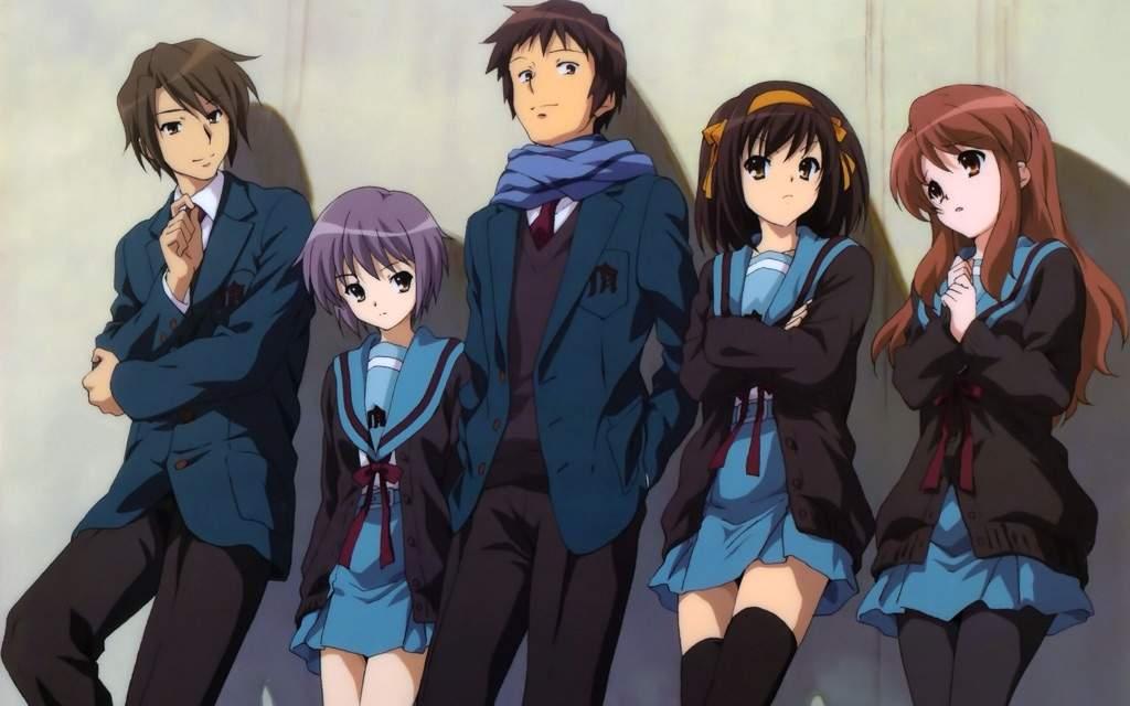 Haruhi Suzumiya / Characters - TV Tropes