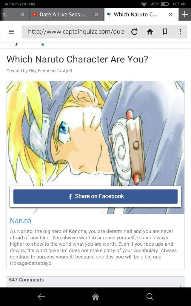 Which Naruto Character are You?   Anime Amino