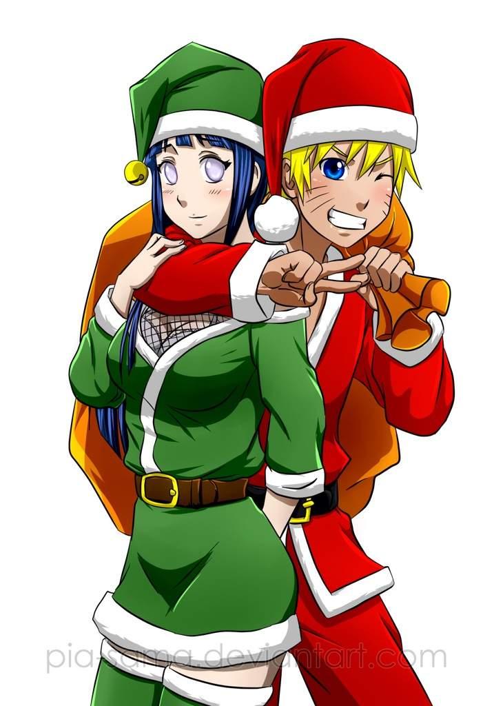 santa christmas_tree - Naruto Christmas