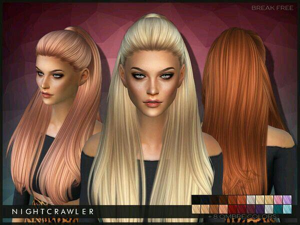 Nightcrawler Cc Hair Sims 4 Sims Amino