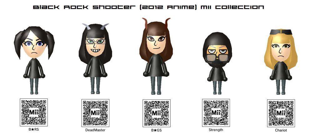 Anime Mii Characters 3ds : Miis flashback anime amino