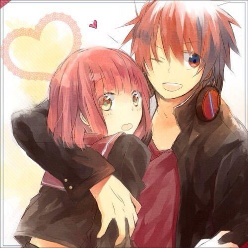 Anime Cute Couple