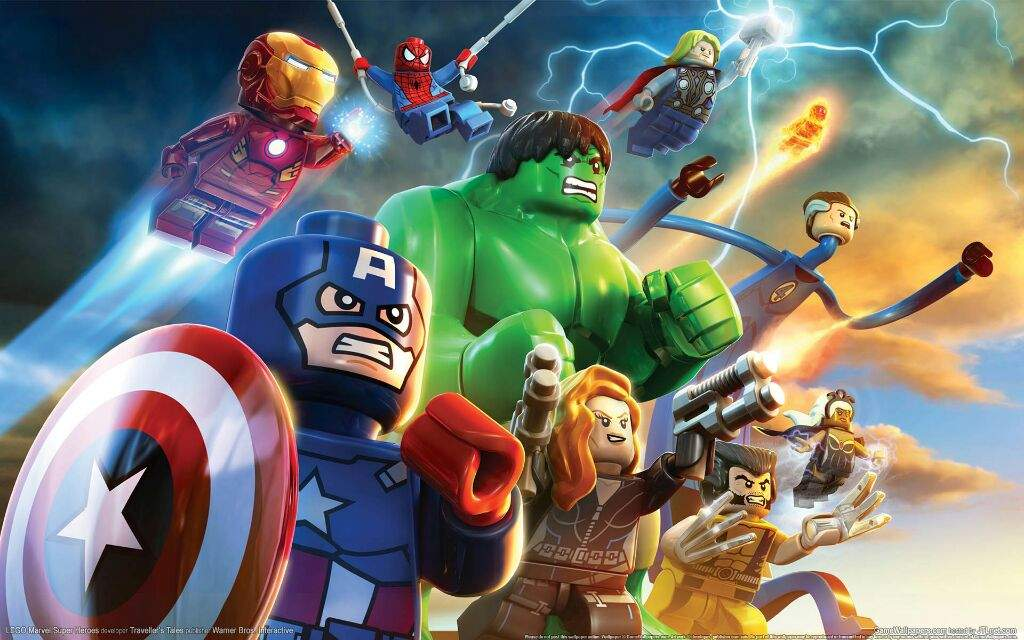 LEGO MARVEL Superheroes Custom Character Codes | Comics Amino