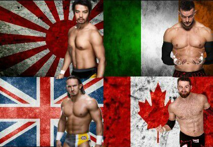My League Of Nations Nxt Edition Wrestling Amino