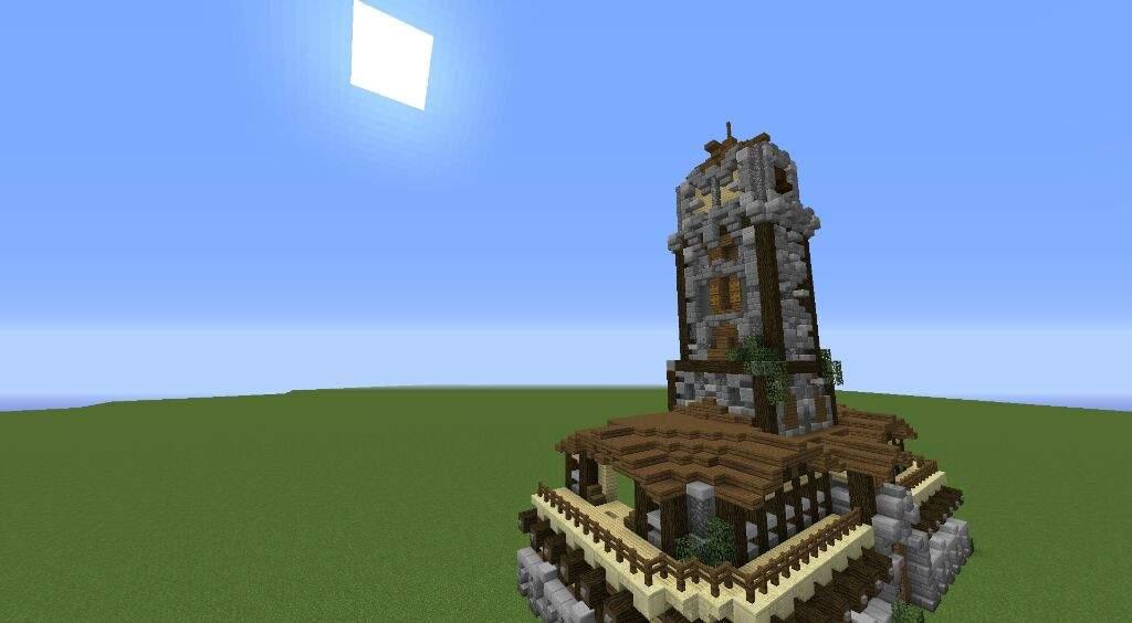 Clock Tower Mansion Progress | Minecraft Amino