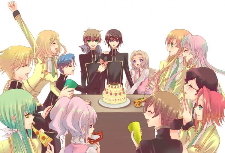happy brith day lelouch vi britannia anime amino