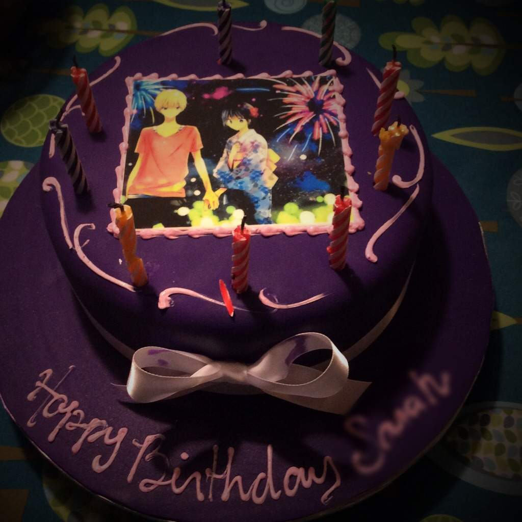 Birthday Cakes Anime Amino
