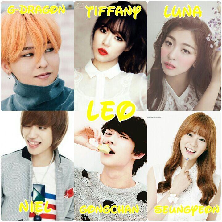 Whats Your Zodiac Sign KPop Amino - Hair colour zodiac