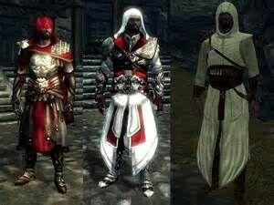 Assasins Creed Skyrim Armor Mod Video Games Amino