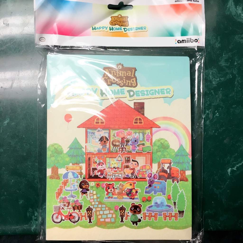 Animal Crossing Happy Home Designer Amiibo Card Album Review