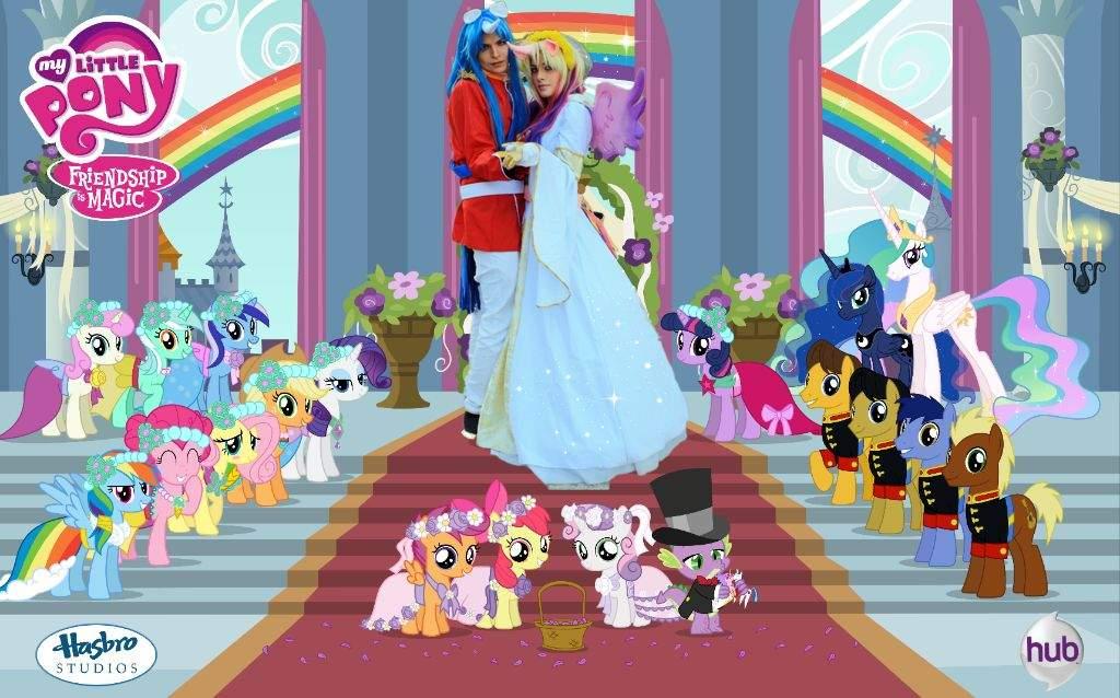 My Little Pony Princess Cadence Mlp Shining Armor