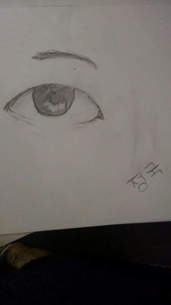 Jungkook Sketched Eye K Pop Amino