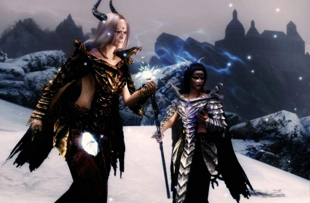 Skyrim mods- Byrgith and Rannweig- dragon priest followers