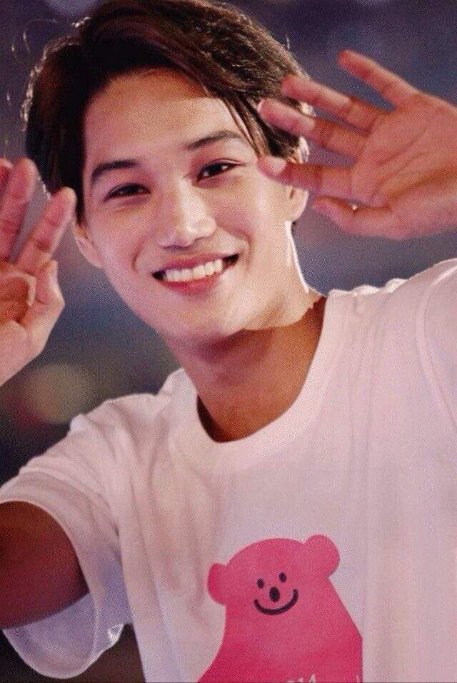 Exo Kai Cute Smile