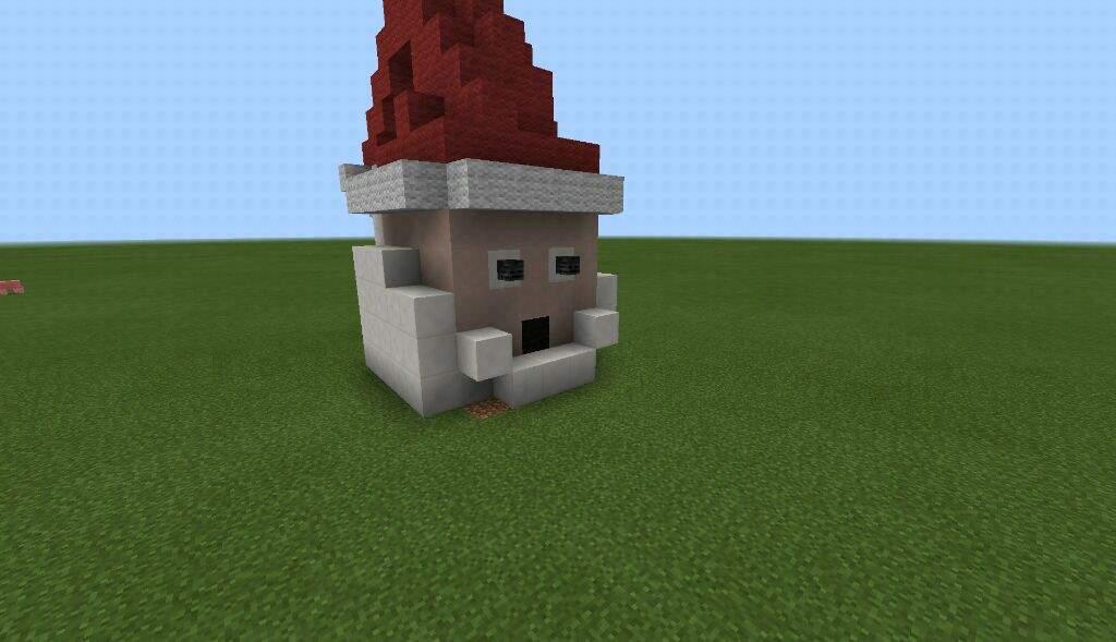 Christmas Minecraft Santa.8 Days Until Christmas Build Santa Minecraft Amino