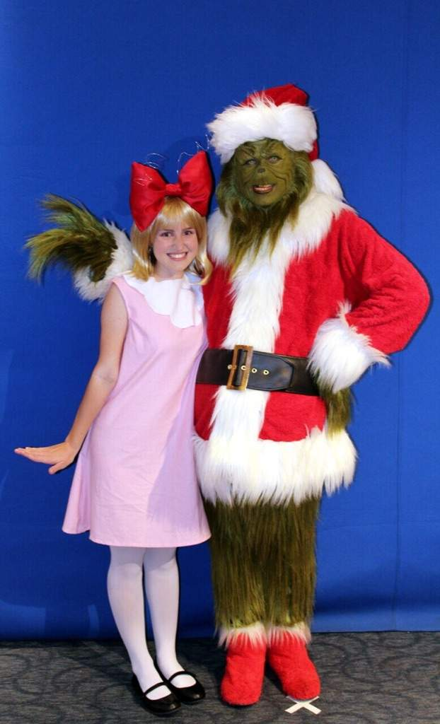 You're a mean one, Mr. Grinch | Cosplay Amino