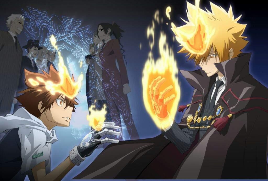 Katekyo Hitman Reborn Anime Amino