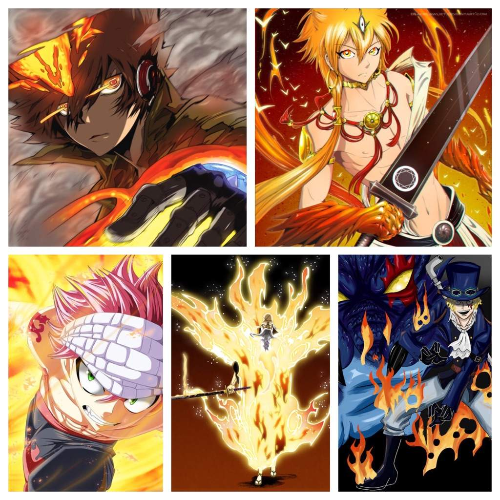 Fire Vs Ice Vs Lightning Users | Anime Amino Fire Vs Lightning