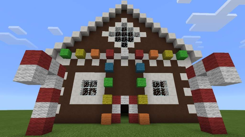Gingerbread House O Minecraft Amino