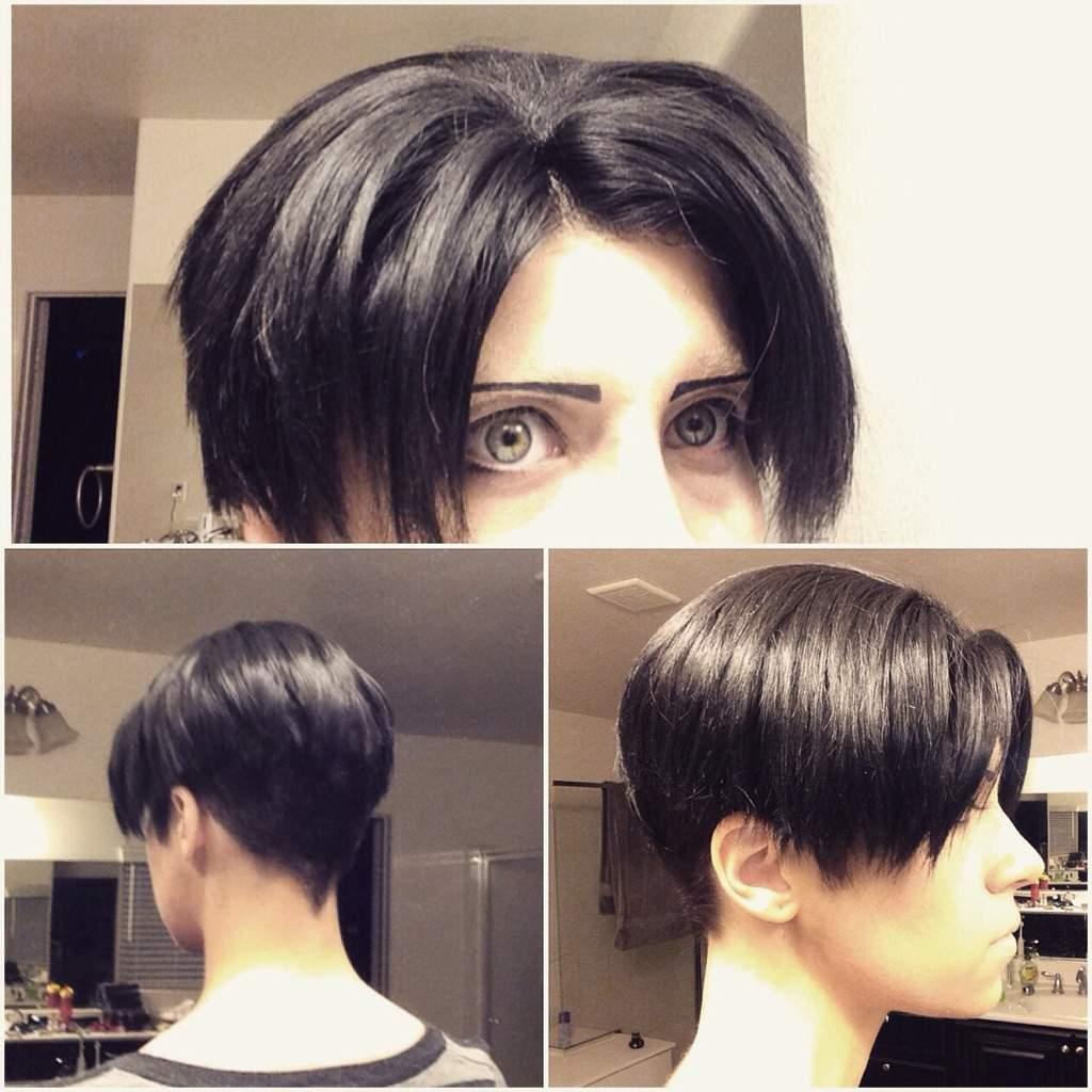 Undercut Hairstyle Levi - NiCe