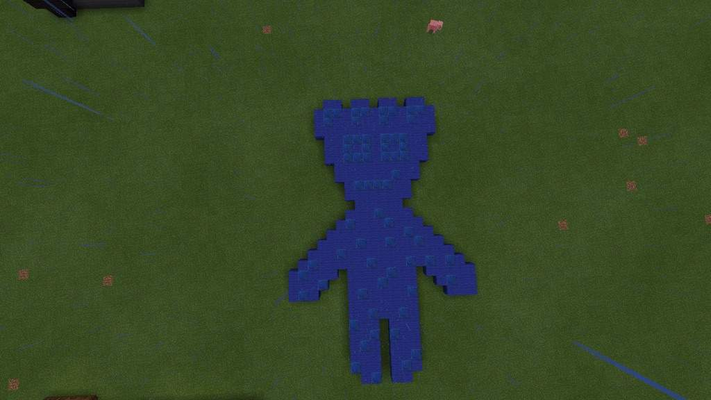 Blue Sour Patch Kid Pixel Art   Minecraft Amino