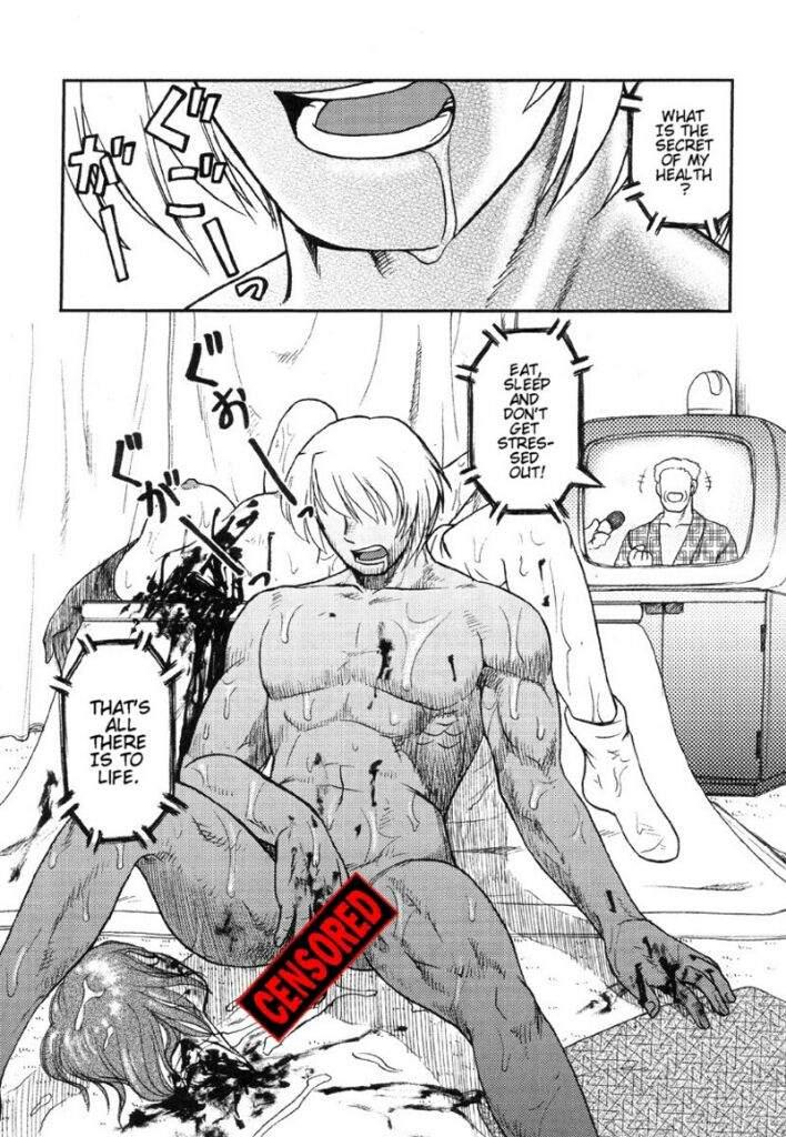 What's her guro hentai manga