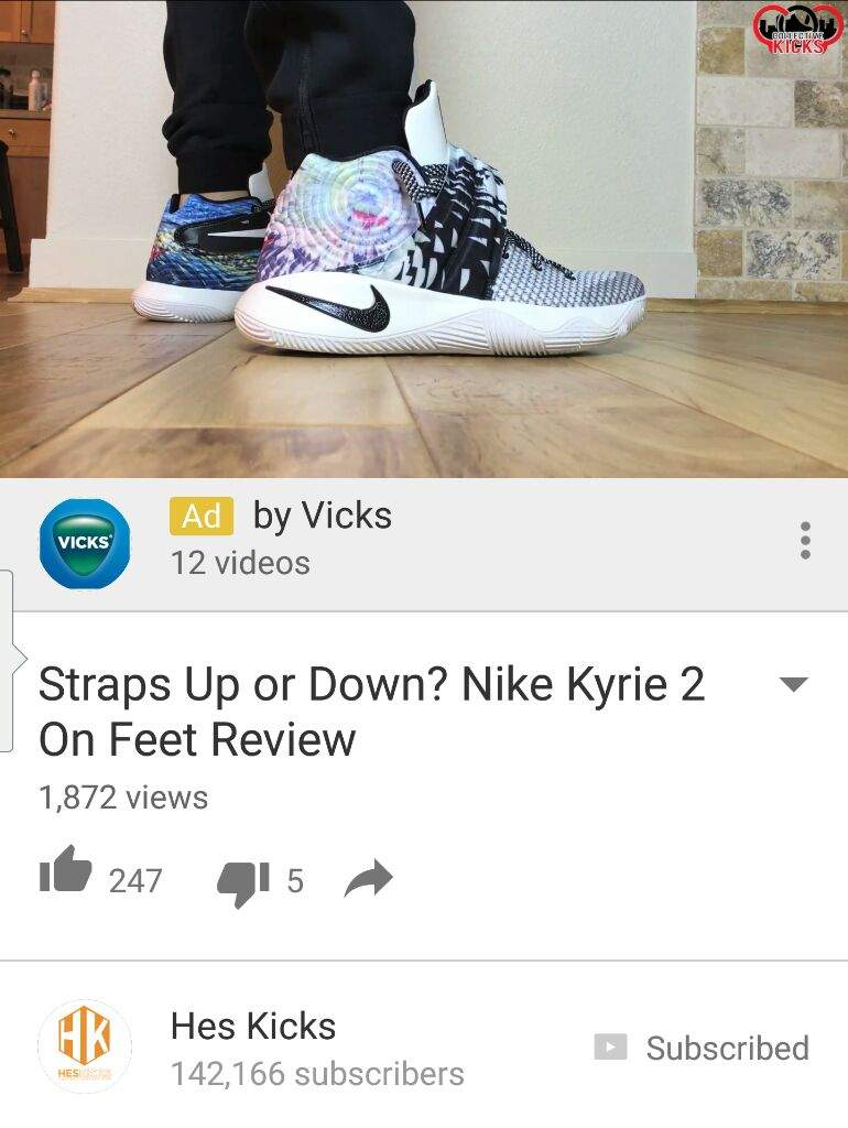 d8889bcc9eb0 Nike Kyrie 2  Effect