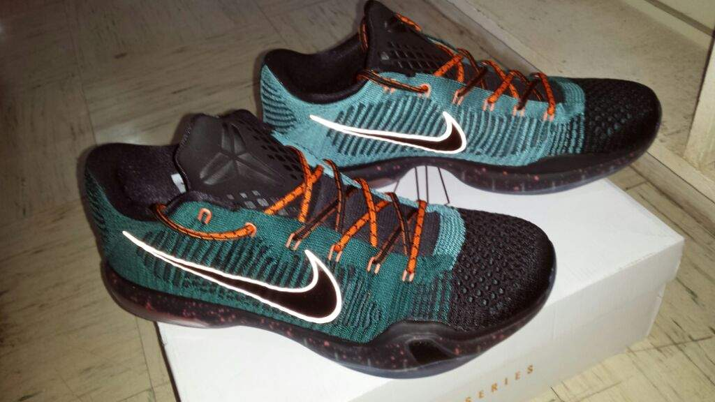 brand new d8f3c 72594 ... also has steel aglets which is really dope) which really fits the  colorway of my kobe 10 elite. This kobe 10 elite is definitely my fav pair  as of now.