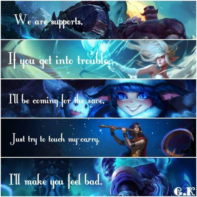 Love your Support! | League Of Legends Official Amino