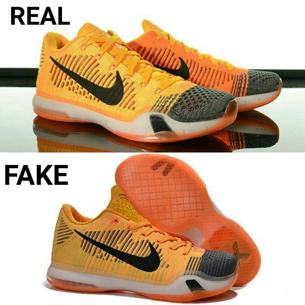 sale retailer e20db 37a67 Spotting a FAKE Kobe X Elite Low  Sneakerheads Amino