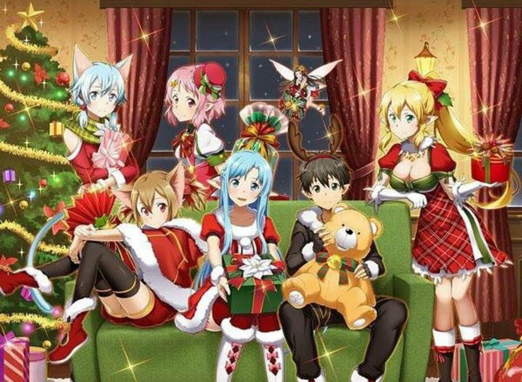 fairy tail anime christmas wallpaper - photo #22