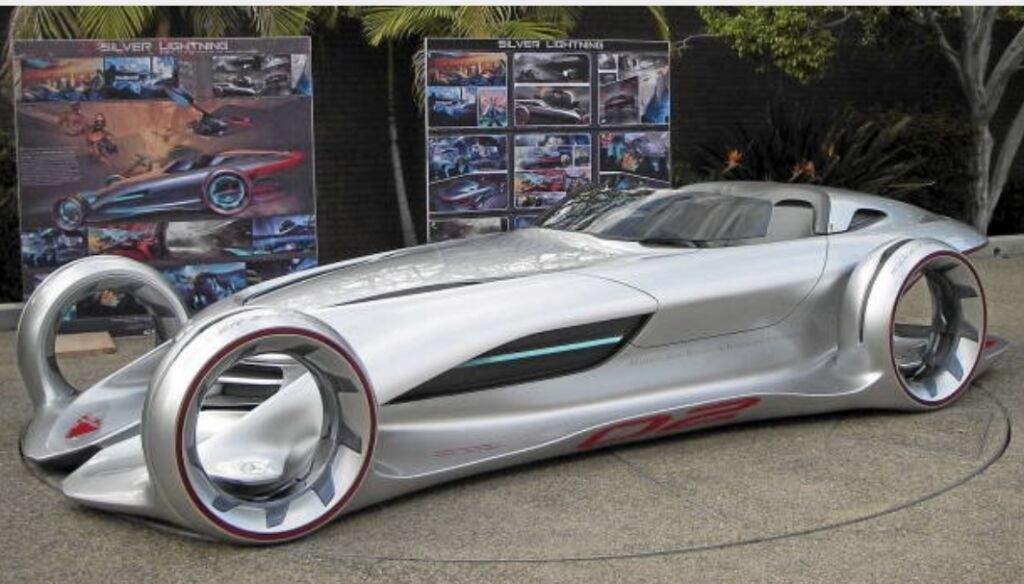 Mercedes-Benz silver lightning | Garage Amino
