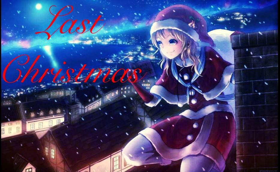 i dont usually write original fiction for these contests but i had to xd i could totally see this as a silent ova cant you - Last Christmas Original