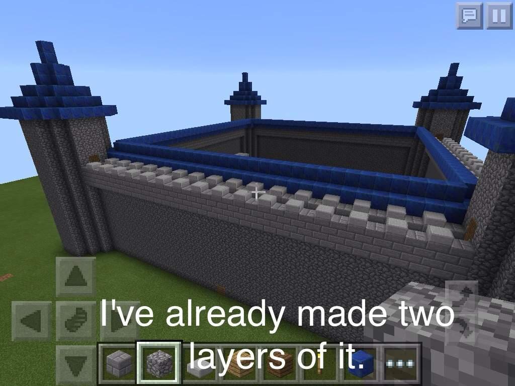 Minecraft Cobblestone Castle Design Templates