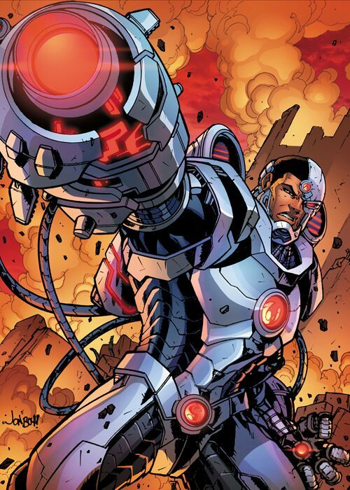 Underrated Heros 101 Cyborg Comics Amino