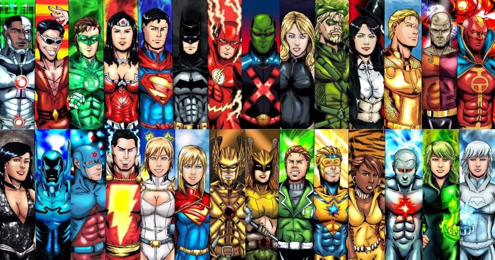 DC comics mind map  Comics Amino