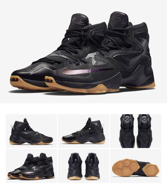 sale retailer acb9a e11f8 Nike Lebron 13 Black Lion | Sneakerheads Amino