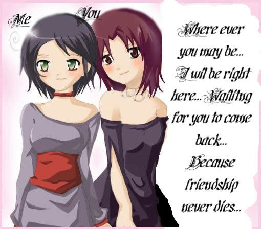 Funny And Sweet Friendship Quotes Anime Amino Awesome Anime Quotes About Friendship
