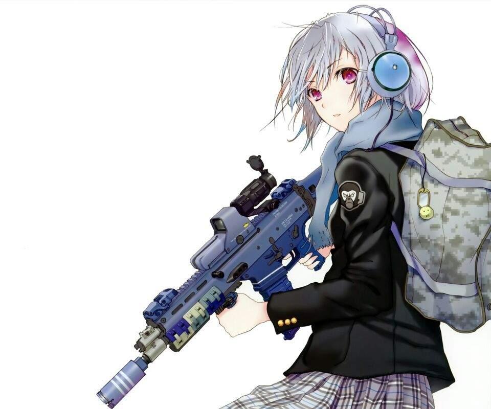 War Anime Girl